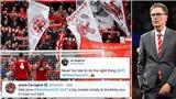 Liverpool thu lệnh sa thải tạm thời nhân viên vì bị chỉ trích dữ dội