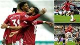 Newcastle 1-4 MU: Bùng nổ cuối trận, Quỷ đỏ thắng ngược tưng bừng
