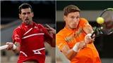 Kết quả Roland Garros 7/10, sáng 8/10: Djokovic ngược dòng, hẹn Tsitsipas ở bán kết