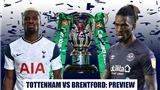 Kết quả bóng đá 5/1, sáng 6/1: Tottenham loại Brentford, vào chung kết Cúp Liên đoàn
