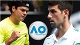 Kết quả Australian Open hôm nay: Djokovic vượt qua Raonic, Dominic Thiem bị loại