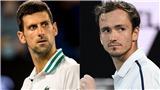 Lịch thi đấu Australian Open hôm nay. Trực tiếp Djokovic vs Medvedev. TTTV