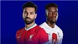 Kết quả bóng đá hôm nay: Liverpool vs Crystal Palace, Aston Villa vs Chelsea, Leicester vs Tottenham