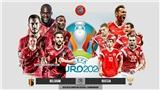 Lịch thi đấu bóng đá hôm nay. Trực tiếp Wales vs Thụy Sĩ, Đan Mạch vs Phần Lan, Bỉ vs Nga. VTV3, VTV6