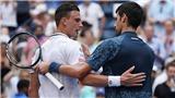Kết quả Wimbledon 7/7, sáng 8/7: Federer tạm biệt Wimbledon, Djokovic rộng cửa vô địch