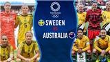 Video nữ Thụy Điển vs Úc, Olympic 2021: Clip bàn thắng highlights