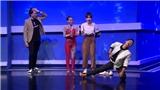 MC Nguyên Khang, ca sĩ Tim bị Hari Won 'hành hạ' trên sân khấu 'Kèo này ai thắng'