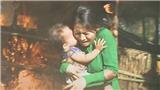 'Mẹ ghẻ': Diệu lao vào đám cháy cứu con Phong, Tuyết cướp công trắng trợn