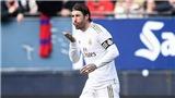 Osasuna 1-4 Real Madrid: Thầy trò HLV Zidane giành chiến thắng thứ 5 liên tiếp