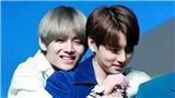 Hình ảnh ngọt ngào quá đỗi giữa Jungkook và V BTS