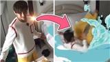 Hậu trường cảnh V 'nhảy xuống biển' khiến BTS cười ngả nghiêng