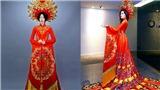 Lộ diện quốc phục nặng 30 kg của Huyền My trong Hoa hậu Hòa Bình thế giới 2017
