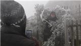 Miền Bắc rét buốt, băng giá và mưa tuyết tiếp tục xảy ra tại vùng núi cao