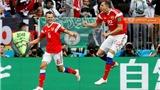 Video clip highlights bàn thắng trận Nga 5-0 Saudi Arabia