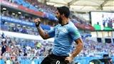 Video clip bàn thắng Uruguay 1-0 Saudi Arabia: Luis Suarez giúp Uruguay đi tiếp