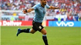 Video clip bàn thắng Nga 0-3 Uruguay: 'Song sát' Suarez - Cavani trừng phạt chủ nhà