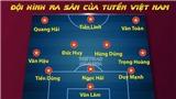 Đội hình xuất phát của Việt Nam đấu Indonesia: Tiến Linh bất ngờ đá chính, Đức Huy thay Tuấn Anh