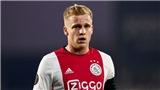 Tin bóng đá MU 8/6: Ajax xác nhận MU theo đuổi van de Beek. 7 sao trở lại chiến với Tottenham