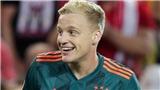 Vì sao Donny van de Beek được MU và Real Madrid săn đón?