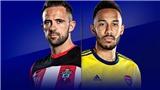 Link xem trực tiếp bóng đá. Southampton vs Arsenal. Trực tiếp bóng đá Anh. K+, K+PM