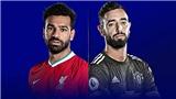 Cập nhật trực tiếp bóng đá Anh: Liverpool vs MU, Man City vs Crystal Palace
