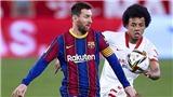 Video clip bàn thắng trận Sevilla vs Barcelona
