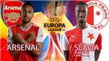 Video clip bàn thắng trận Arsenal vs Slavia Praha