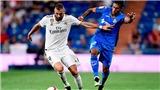 Video clip bàn thắng trận Getafe vs Real Madrid