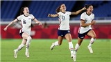 Video nữ Mỹ vs Canada, Olympic 2021: Clip bàn thắng highlights