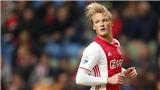 Chân sút được Bergkamp dạy dỗ, dứt điểm như Van Basten khiến M.U lo ngại
