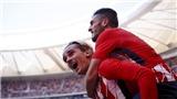 Video clip highlights bàn thắng trận Atletico Madrid 2-0 Sevilla