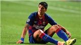 Barca: Hiệp 1 thảm họa của Suarez, chạm bóng nhiều nhất ở... khu vực giao bóng