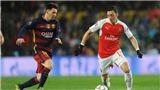 Messi bị phớt lờ ở đội hình trong mơ của Mesut Oezil