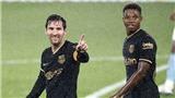 Celta Vigo 0-3 Barcelona: Messi, Ansu Fati tỏa sáng, Barcelona thắng dễ dù đá 10 người