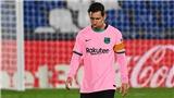 Getafe 1-0 Barcelona: Messi bất lực, Koeman nhận thất bại đầu tiên