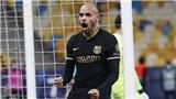 Ronaldo và Braithwaite tỏa sáng, Juventus và Barcelona đi tiếp sớm 2 lượt đấu