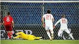 Thuỵ Sỹ 1-1 Tây Ban Nha: Ramos đá hỏng 2 quả phạt đền, Tây Ban suýt thua bẽ mặt