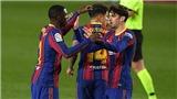 Barcelona 1-1 Eibar: Braithwaite hỏng phạt đền, Barca mất điểm khi vắng Messi