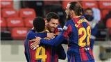 Bóng đá hôm nay 20/12: Messi cân bằng kỷ lục của Pele. Lewandowski giải cứu Bayern