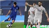 Real Madrid 1-1 Chelsea: Pulisic đi vào lịch sử, Benzema giữ lại hy vọng cho Real