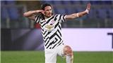 ĐIỂM NHẤN Roma 3-2 MU: Cavani sắc bén. Hàng thủ MU vẫn gây lo lắng