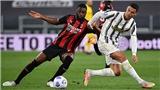 Hậu vệ AC Milan phá kỷ lục bật cao đánh đầu của Ronaldo