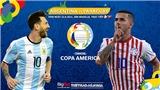 Kèo nhà cái. Soi kèoArgentina vs Paraguay. BĐTV trực tiếp Copa America 2021