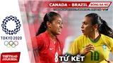 Kèo nhà cái. Soi kèo bóng đá nữ Canada vs Brazil. Nhận định bóng đá Olympic 2021