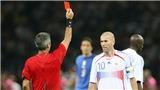 Tiết lộ sốc về chiếc thẻ đỏ của Zidane trong trận chung kết World Cup 2006