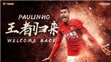 Paulinho CHÍNH THỨC rời Barcelona để trở lại Trung Quốc