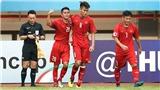 Tiếc nuối khi Văn Nam bỏ lỡ cơ hội ghi bàn đáng tiếc cho U19 Việt Nam trước U19 Jordan