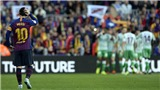 Video clip Barcelona 3-4 Real Betis: Một mình Leo Messi là không đủ