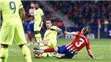 Atletico 1-1 Barcelona: Dembele giải cứu Barca ở phút cuối cùng