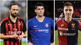 'Hiệu ứng Domino' tiền đạo: Higuain tới Chelsea, Morata gia nhập Atletico, Piatek đến Milan